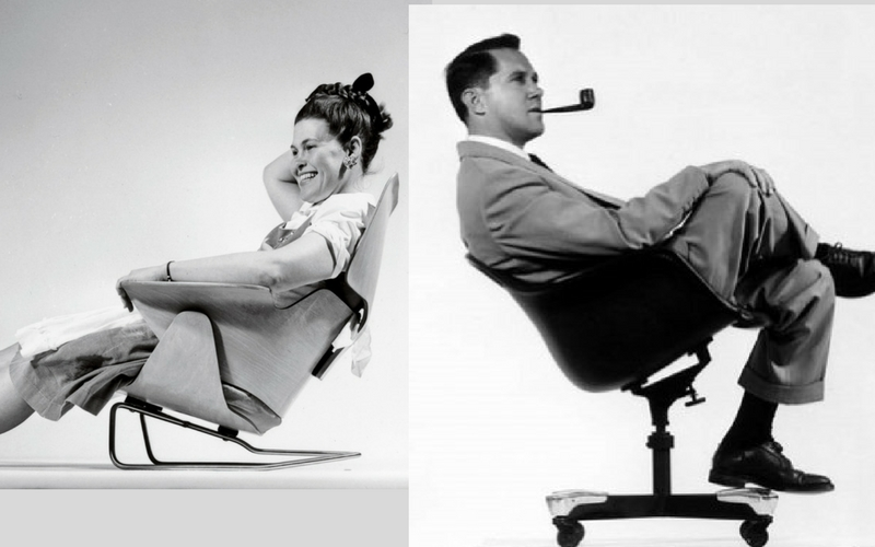 muebles eames ray y charles eames